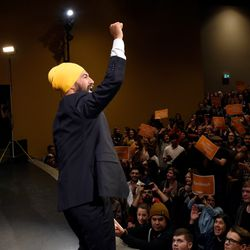 Singh Won't Answer If He Would Send Canadians Back To
