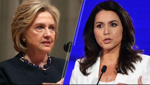 Hillary Clinton and Tulsi
