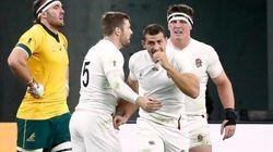 L'Angleterre écrase l'Australie dans le 1er quart de finale du Mondial de