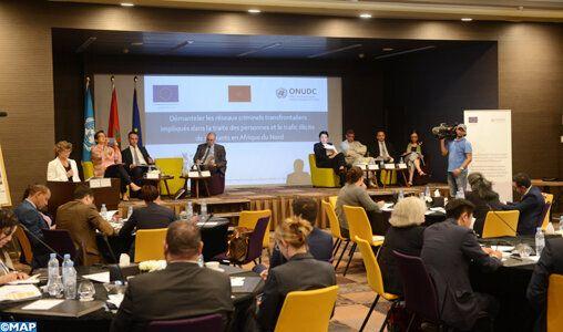 Lancement à Rabat d'un projet de lutte contre le trafic illicite de migrants
