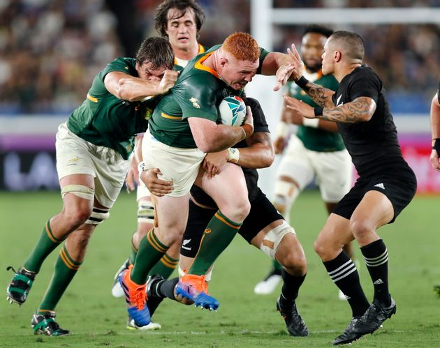 南アフリカとニュージーランド戦
