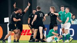 Les All Blacks sans pitié pour les Irlandais, balayés en quart de finale du