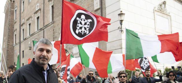 """CasaPound: """"A San Giovanni per fare chiarezza"""""""