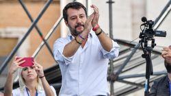 """″È la piazza di tutti, non di Matteo, Silvio o Giorgia"""": Salvini apre la manifestazione a San"""