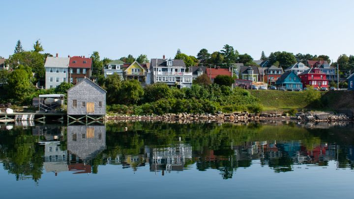 Houses in Lunenburg, N.S. The Maritimes are seeing rapid rises in home sales as Canadian population growth accelerates.