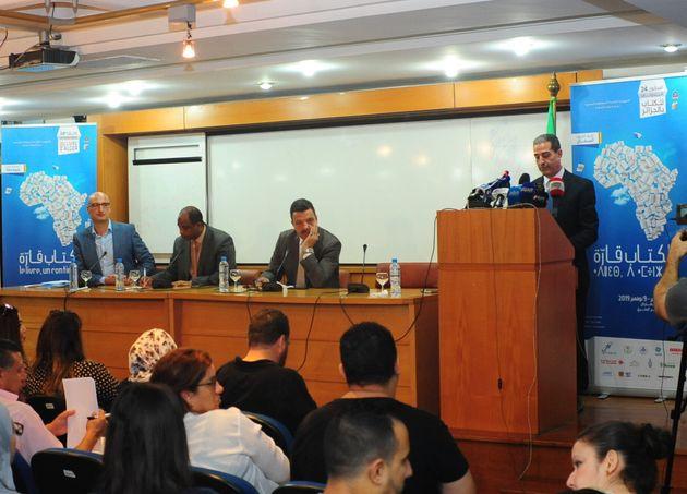 Conférence de presse du commissariat du