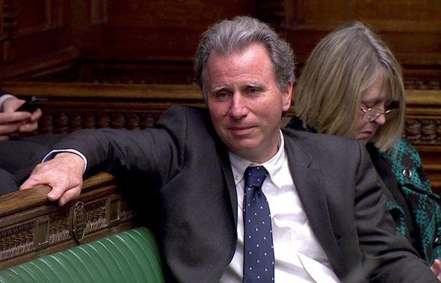 Le député conservateur Oliver Letwin au Parlement britannique, le 3 avril