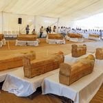 A Louxor, rare découverte de 30 sarcophages trois fois