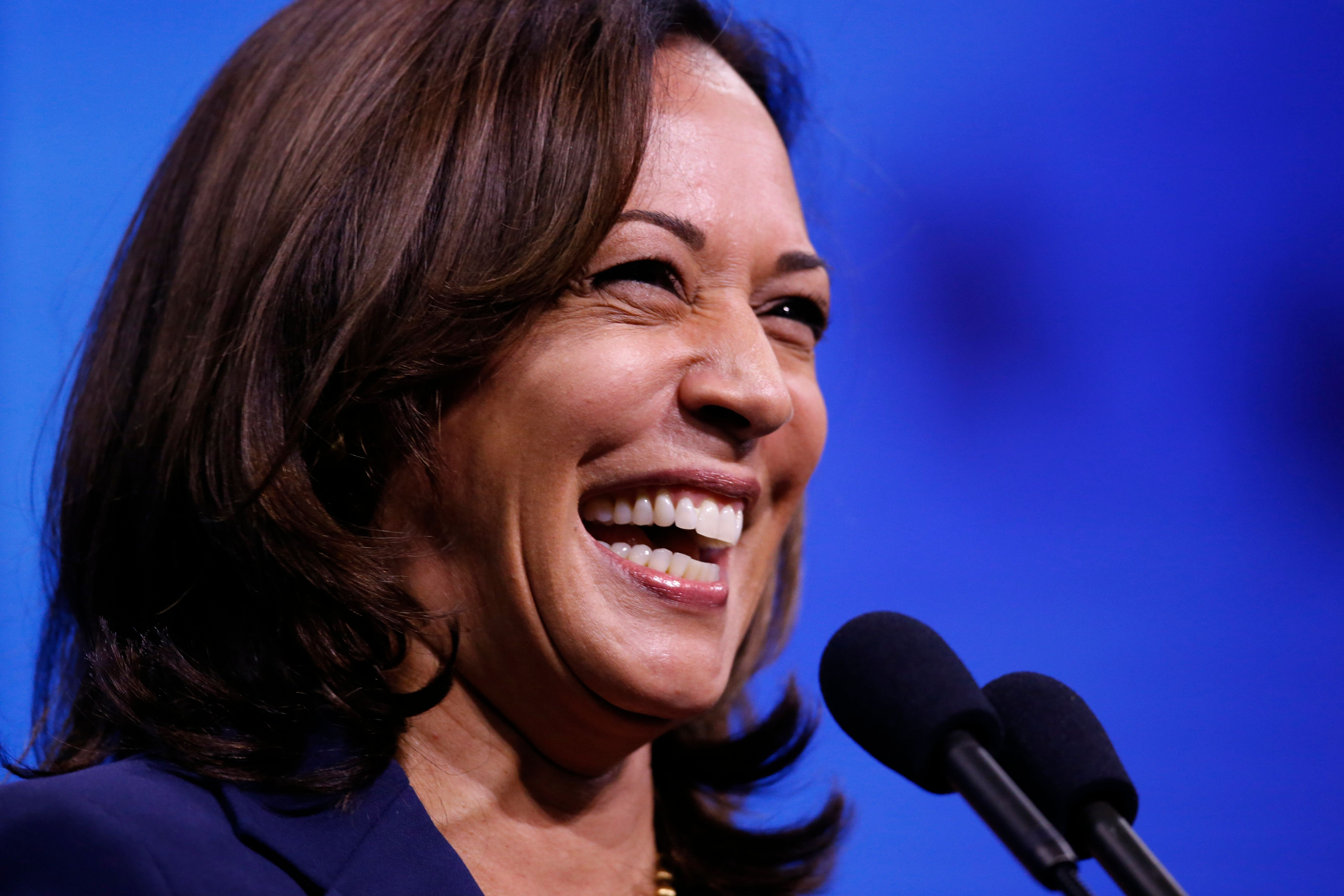 Kamala Harris To Supporter With Tattoo ...