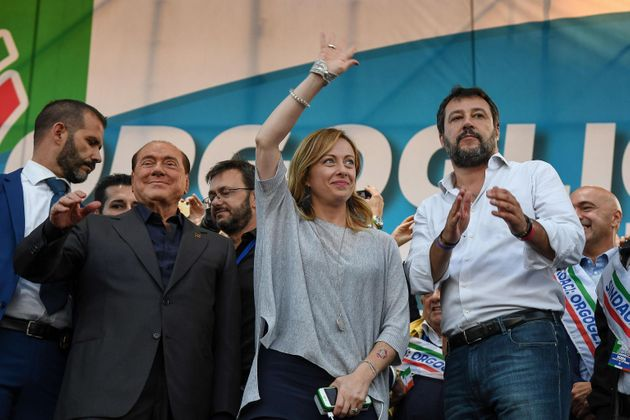 Silvio Berlusconi - Giorgia Meloni - Matteo