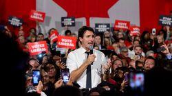 Au début d'un dernier blitz, Trudeau interpelle les électeurs