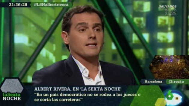 Albert Rivera en 'LaSexta