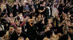 La noche más tranquila: 6.000 personas se manifiestan en Barcelona con disturbios