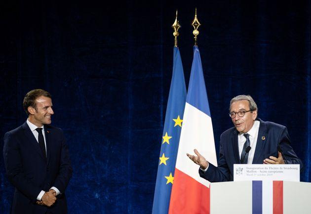 """Le maire de Strasbourg, Roland Ries, fait partie des signataires du """"manifeste pour un pôle..."""