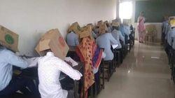인도의 한 대학교가 고안한 시험 컨닝 방지