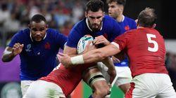 Désillusion pour la France, battue d'un point par Galles en quart de finale du Mondial de