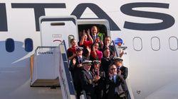 Qantas Completes Historic Test Of Longest Nonstop Passenger