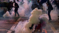 Hong Kong: lacrymogènes et canon à eau contre des manifestants en colère après des
