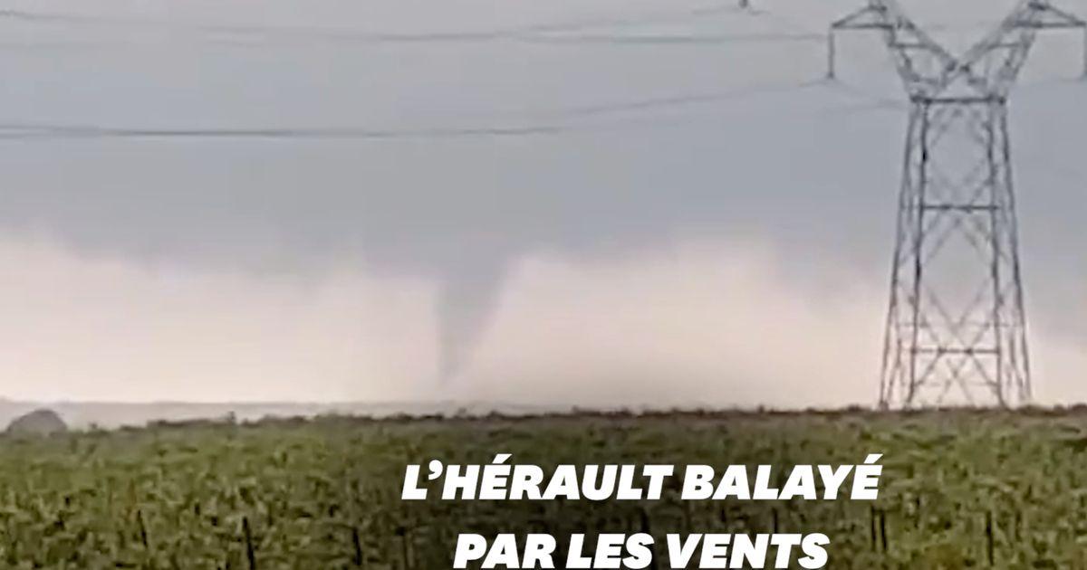 Une tornade frappe l'Hérault et fait de nombreux dégâts