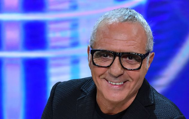 The judge Giorgio Panariello during the first episode of the broadcast Tale e Quale Show at the RAI studios...