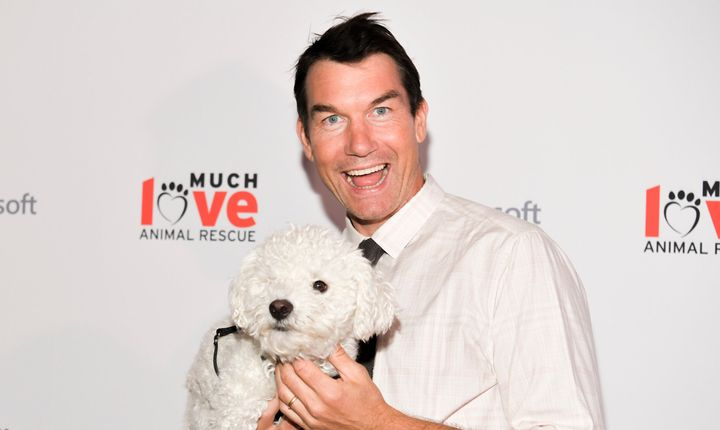 Jerry O'Connell at an animal rescue benefit on Thursday.
