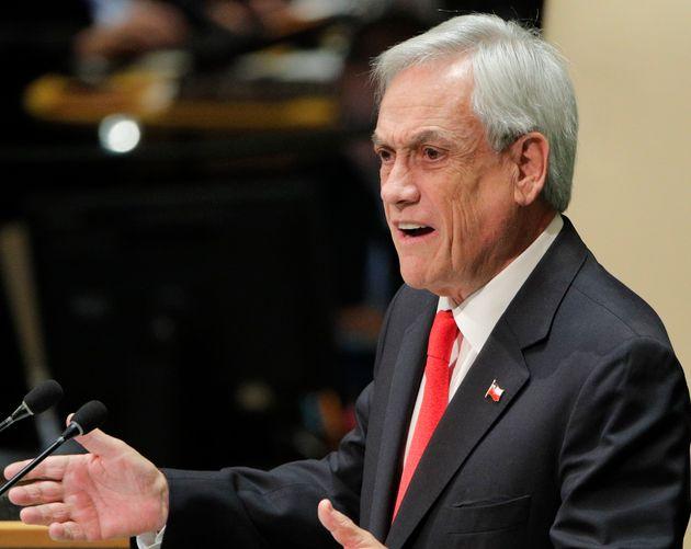 Le président du Chili Sebastian Piñera a déclaré que son pays était...