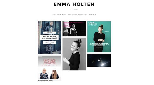 エマ・ホルテンさん公式HP