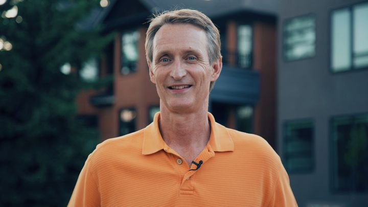 Conservative candidate Greg McLean in Calgary, July 2019.