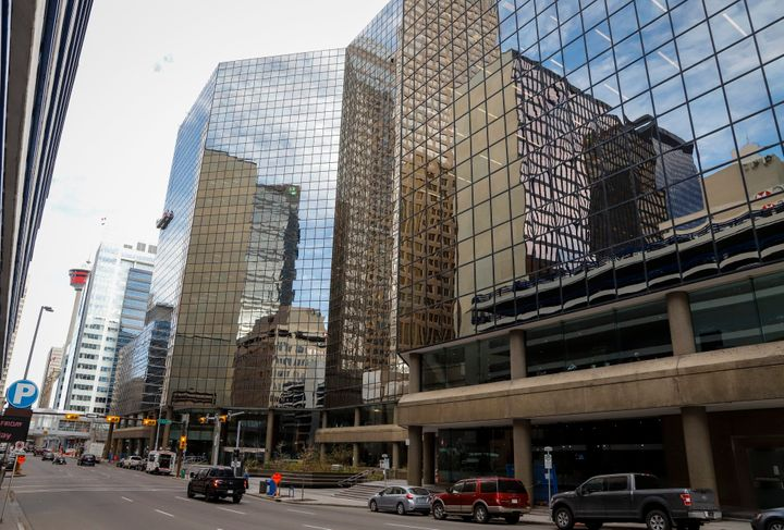 Gulf Canada Square is seen in Calgary on Oct. 25, 2018.