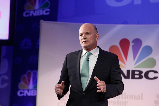 CNBC EVENTS -- Delivering Alpha 2014 -- Pictured: Michael Novogratz, Principal and Director, Fortress...