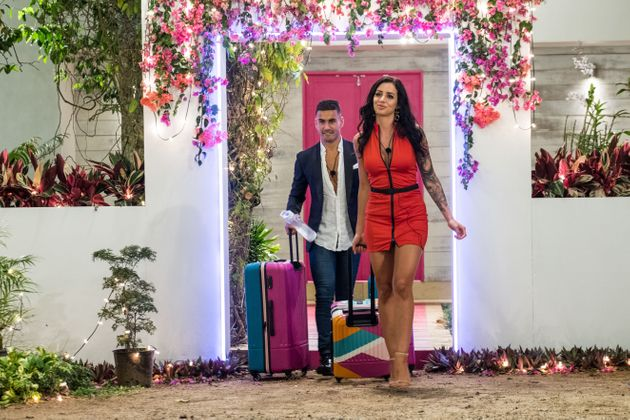 Maurice Salib and Vanessa Sierra were sent home on Love Island Australia on Monday