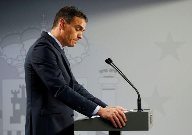 El líder del PSOE, Pedro