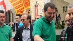 Gigi Moncalvo, ex direttore Padania, a Report: