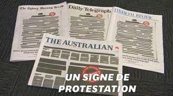 Pourquoi la Une des journaux australiens est-elle censurée ce