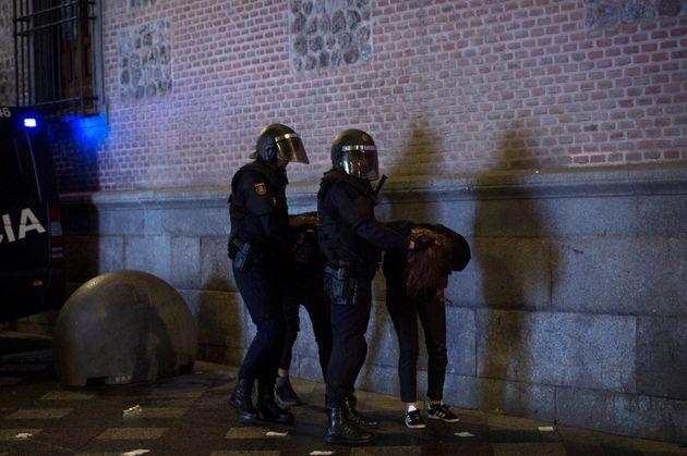 La Policía Nacional detiene a dos