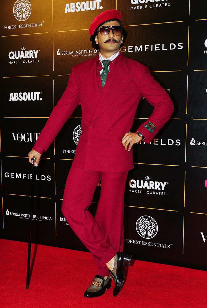 Ranveer Singh won Man of the Year.