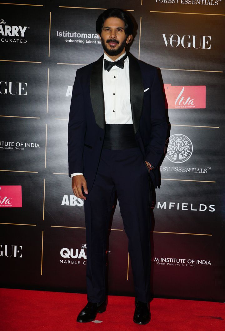Dulquer Salmaan won Trailblazer Of The Year (Male).