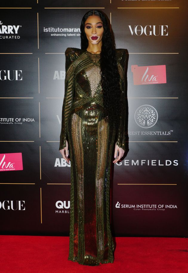 Canadian model Winnie Harlow won Global Changemaker Of The