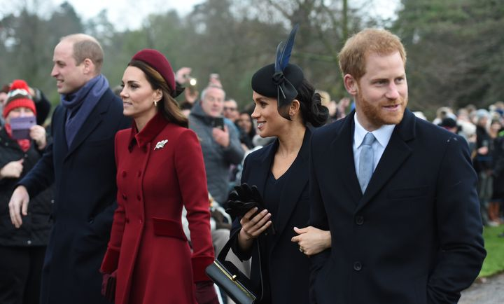The two couples split their joint charity earlier this year