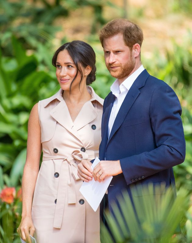 Meghan and Harry during their recent Royal visit to
