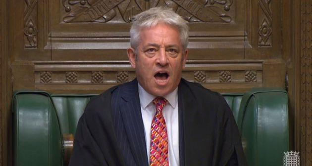 John Bercow Blocks Boris Johnson From Holding Brexit Deal Vote