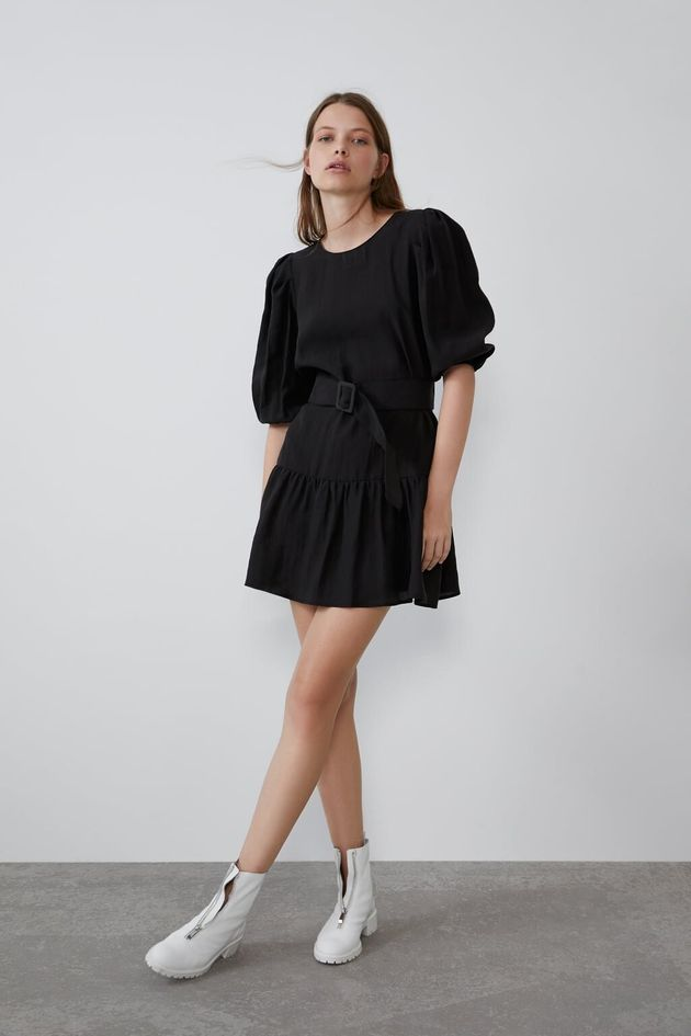 Vestido negro de