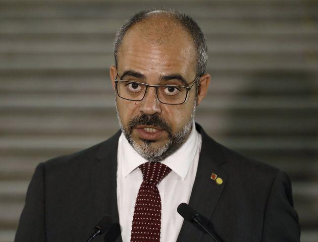 El conseller de Interior de la Generalitat, Miquel
