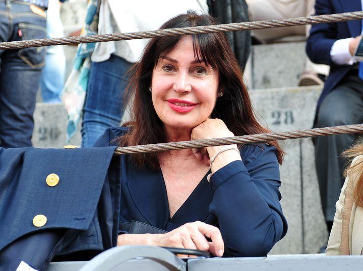 Carmen Martínez Bordiú, en año pasado, en una corrida en Las Ventas.