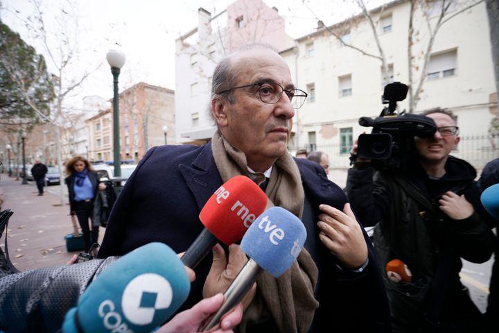 Francis Franco, durante su juicio en Teruel, en 2018.
