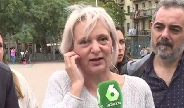Bescansa, candidata de Más País, visita