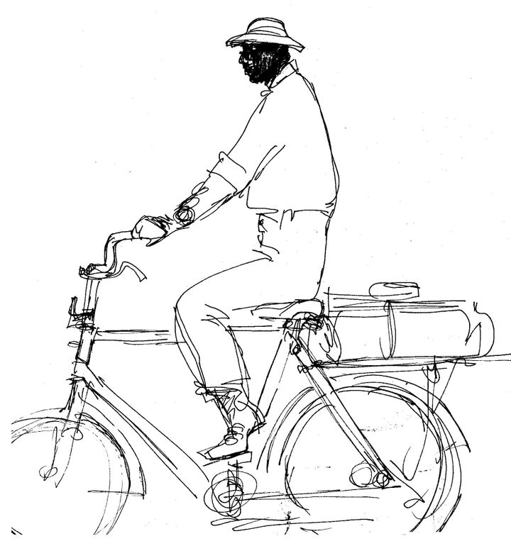 Illustration from 'Sketches'.