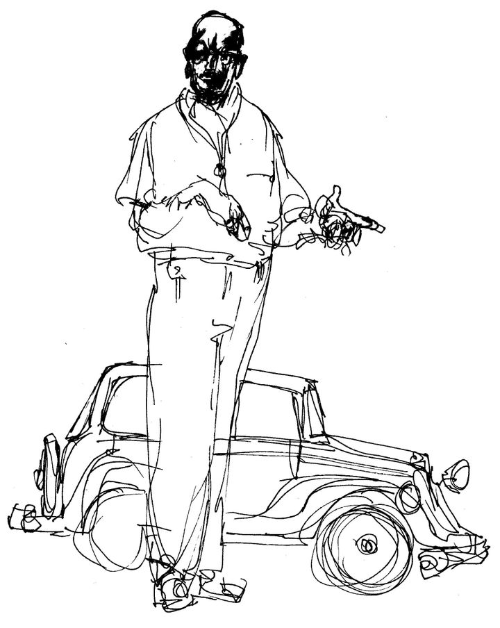 Illustration from 'Sketches'