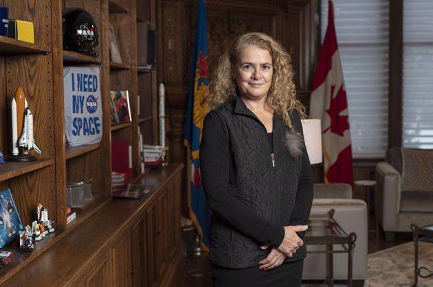 Gov. Gen. Julie Payette stands in her office at Rideau Hall in Ottawa on Dec. 11,