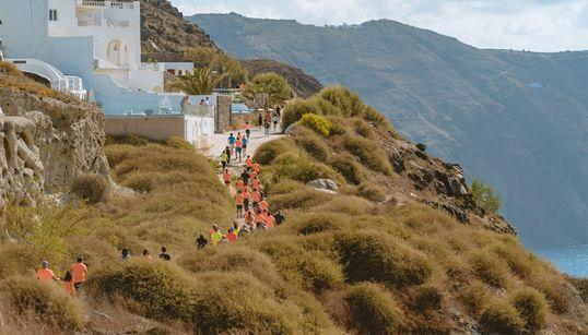 Υψηλού επιπέδου αθλητές στο Santorini Experience